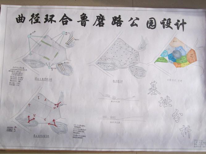 公园类鲁磨路公园方案设计图