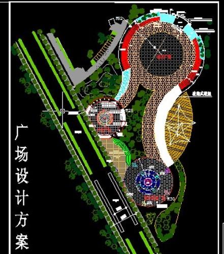 广场规划平面图