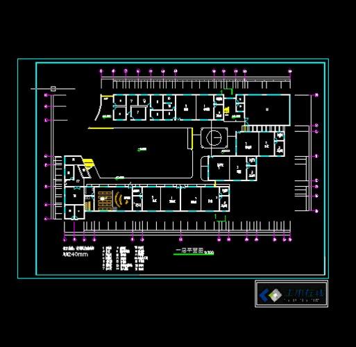 12班幼儿园平面设计_cad图纸下载-土木在线