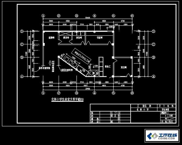 相关专题:食堂建筑施工图 食堂施工图 食堂装修施工图