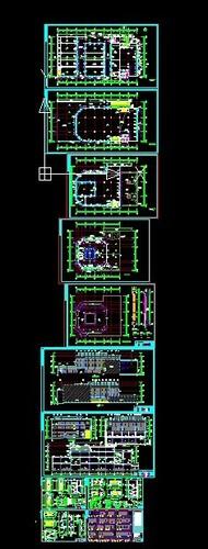 结构) 某地4层(带地下室)框架结构会所全套结构施工图 豪华休闲会所