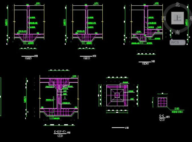 地下车库结构施工图