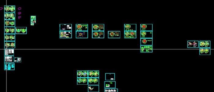 别墅水暖电施工图