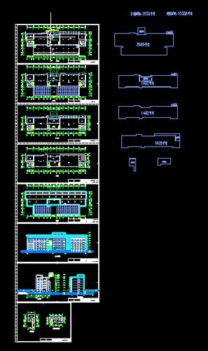 某研发办公楼CAD图纸