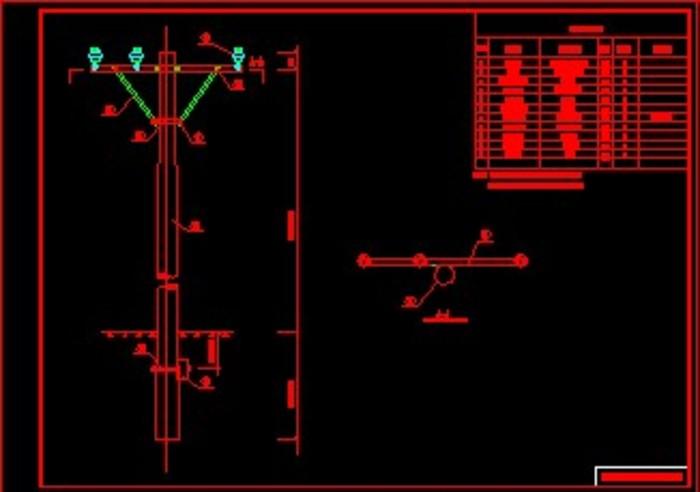 辽宁地区10KV架空线路设计图