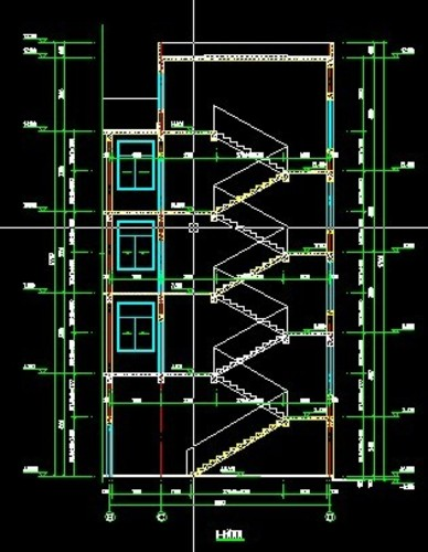 某宿舍建筑结构图_co土木在线图纸下载