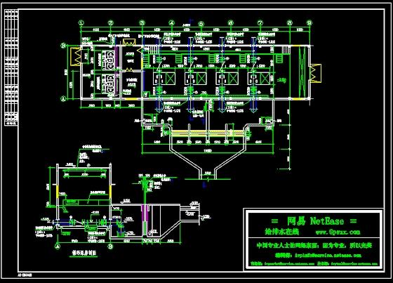 某图纸循环水工程泵房好航模小子图纸图片