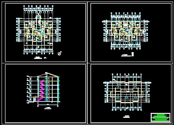 公寓楼装修效果图 公寓楼设计 公寓楼图纸 公寓楼施工设计  所属分类