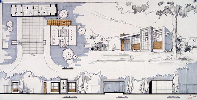 建筑快题设计图片