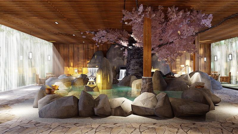 日式洗浴设计