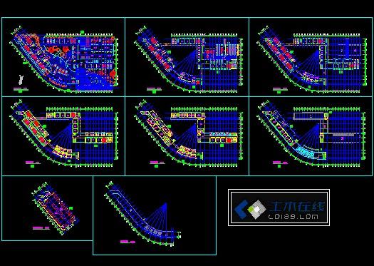 某教学楼平面图    很全的学校建筑综合楼   相关专题:教学楼设计
