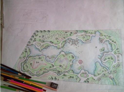 植物园中的水景园设计