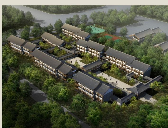 图纸 建筑图纸 佛学院宿舍楼(汉唐风格)  上传时间:2010-12-19 所属