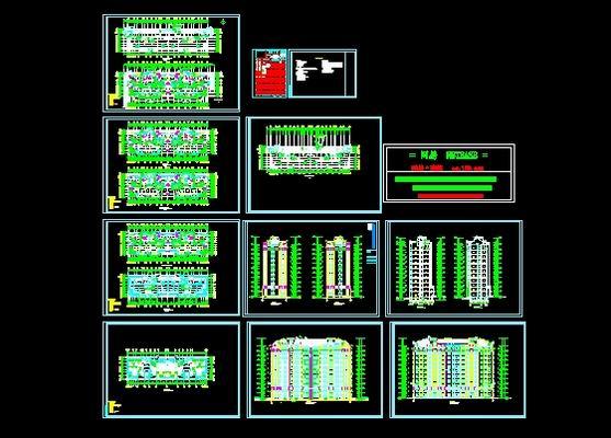完整的工程图纸图纸复式房屋v工程楼房90小平方图片