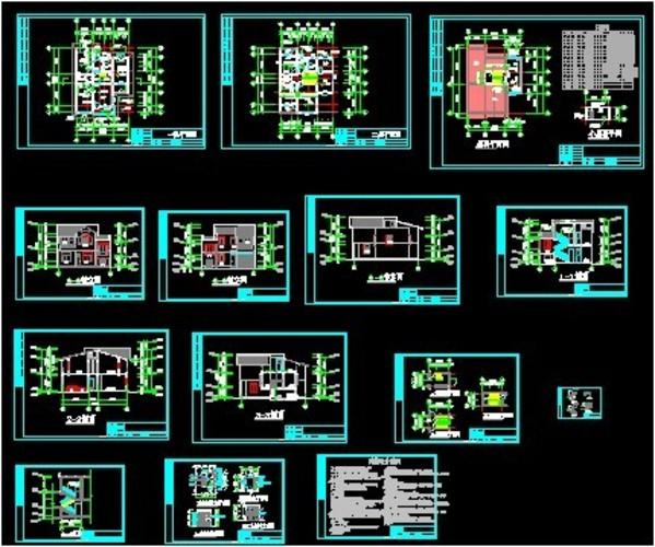 两层房屋设计图图片
