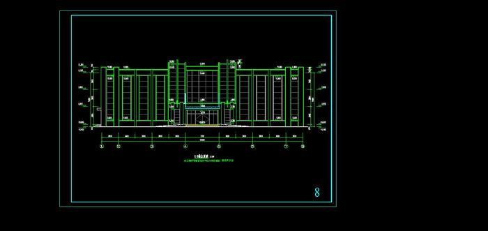 三层办公楼(建筑结构)施工图