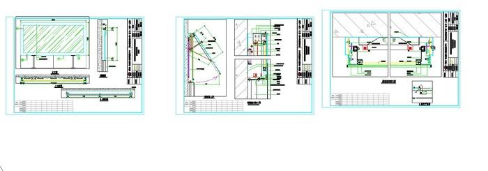【结构图纸】广告灯箱结构图纸_cad图纸下载_土木在线