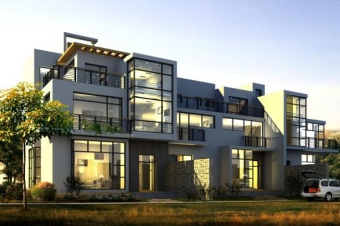 现代农村房子别墅图,现代最新三层别墅图,现代别墅图,现代农村