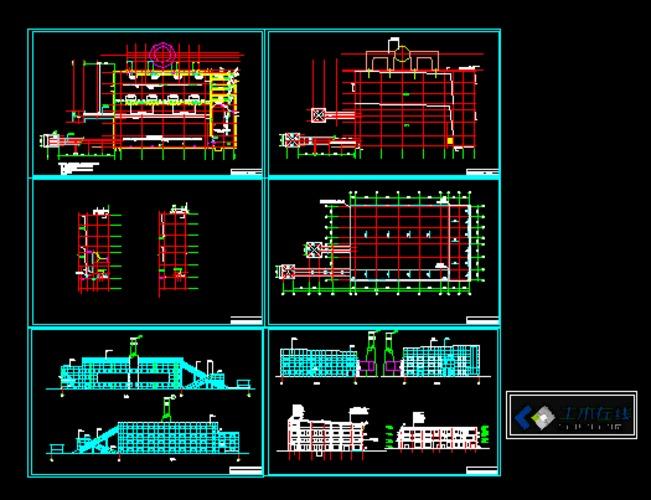 4台65吨大学成果筑六合无绝对锅炉图书馆v大学建筑设计房建图片