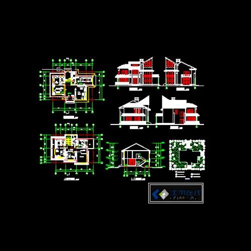 農村自建房設計圖紙
