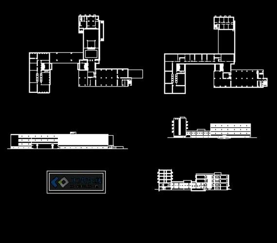 包豪斯设计学院平面图