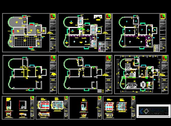 住宅水电施工图纸