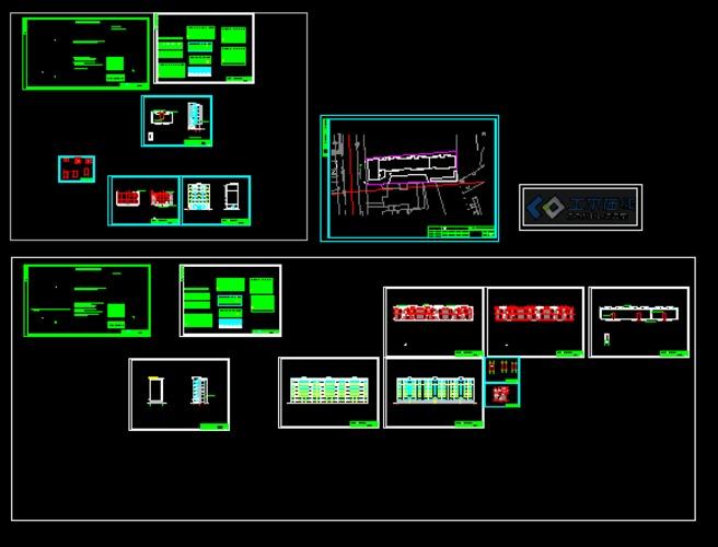 雅安市安置房图纸_co全套在线(原网易机械在线土木怎样懂土木看类图片