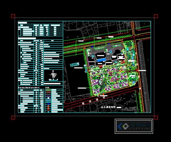宅地块 规划总平面图