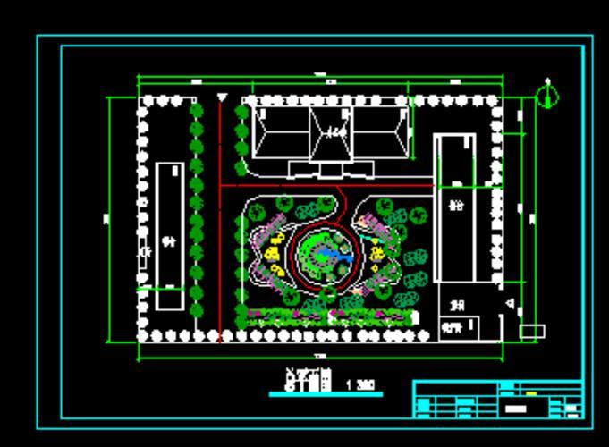 三层办公楼图纸展示