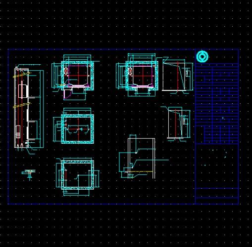 设计发电机房设计看建筑施工图