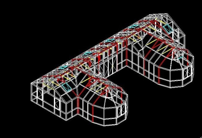 隔热断桥仿古型铝合金窗设计大样图及结点图
