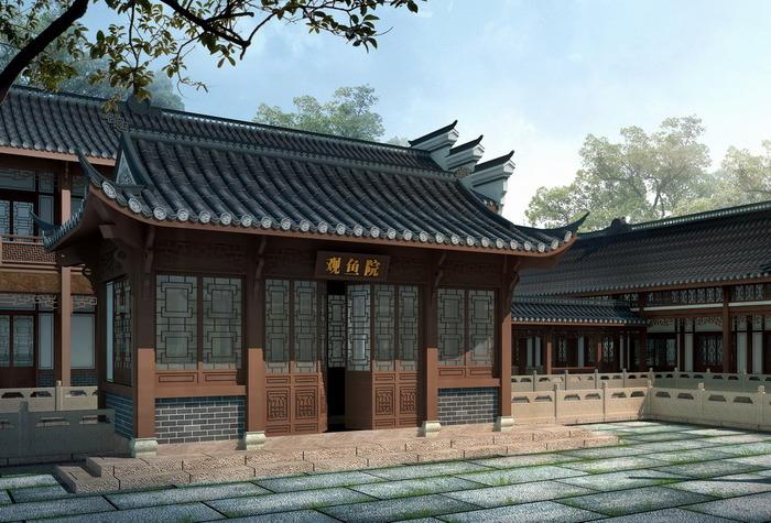 盖房子四合院设计图展示