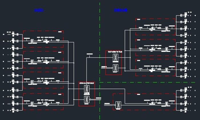 弱电系统综合布线装饰图解