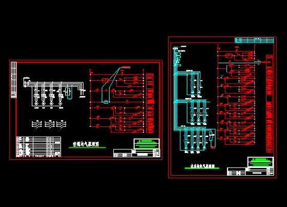 自动控制的空调水系统原理图