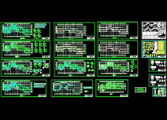 多层住宅(框架结构)图纸