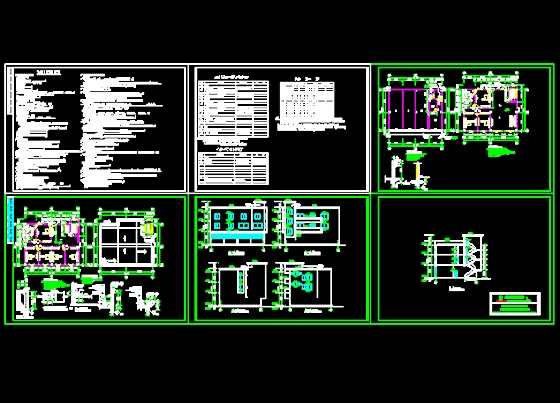 多层住宅楼建筑施工图
