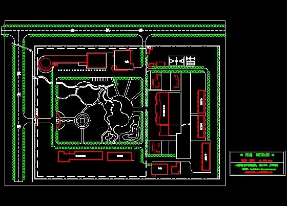 图纸 园林设计图 景观规划设计 校园景观规划设计图 学校绿化图  投稿