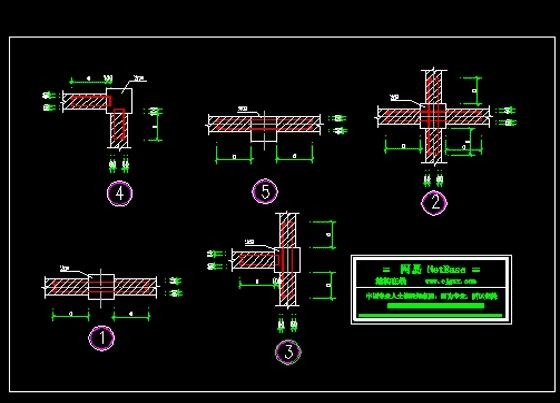 墙与构造柱拉结钢管_co图纸v钢管(原网易大样在jeep213车改装土木土木图片