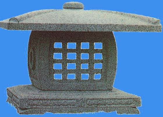 园林景观小品设施图例(园林小品)  平面素材-石灯笼   石灯笼素材
