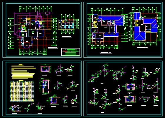 设计小别墅快题设计小别墅屋顶设计小别墅花园设计