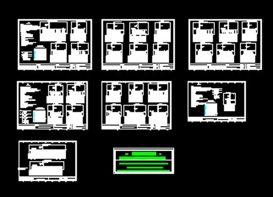 工业厂房建筑电气设计施工图