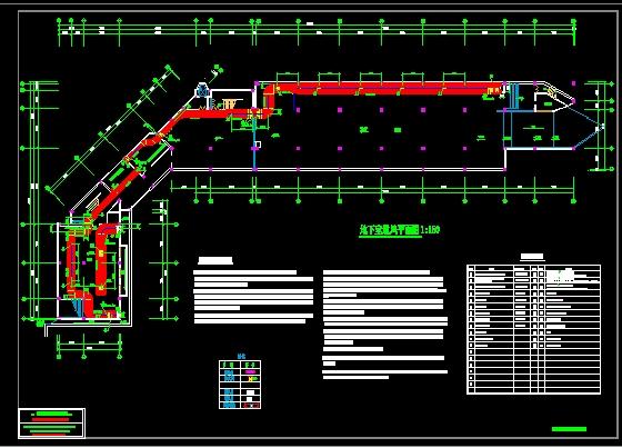 地下室通风平面设计图