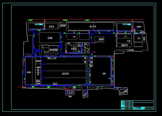 厂区地下管道图