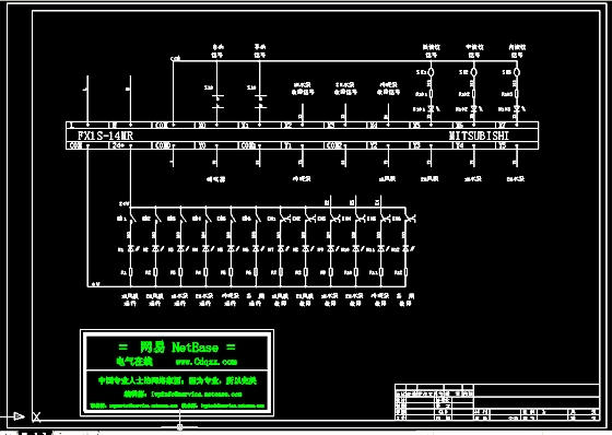 PLC接线图图片