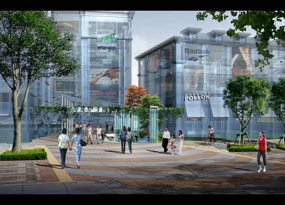 陈红卫室内景观建筑手绘效果图300张--3 景观表现效果图-3 别墅建筑及
