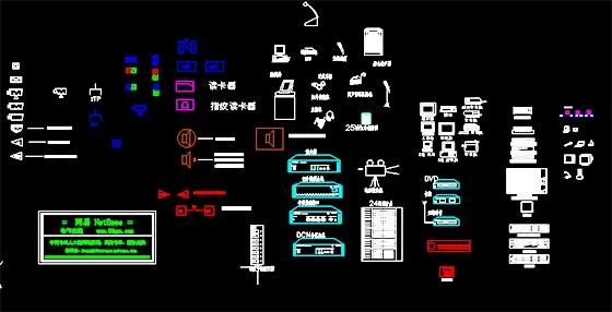 弱电工程常用图形符号