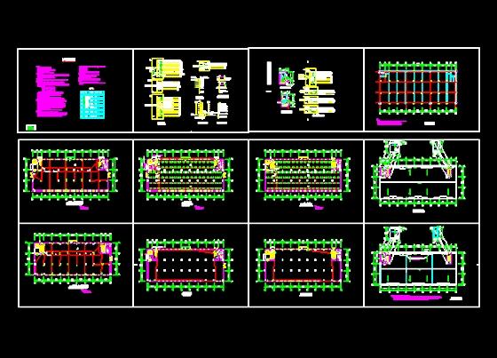 厂房电气设计 电气设计图纸目录