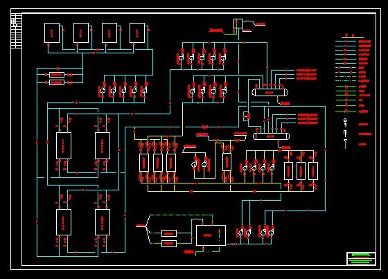 电制冷空调系统原理图