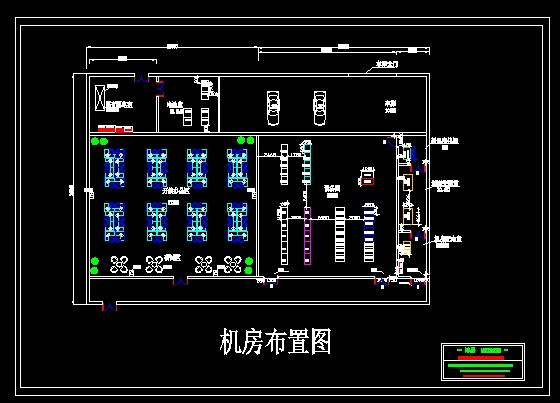 中心机房设计图-图1图片