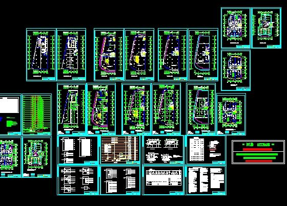 29层单栋高层(带地下车库)建筑电气设计施工图 商丘永城31层带底商的